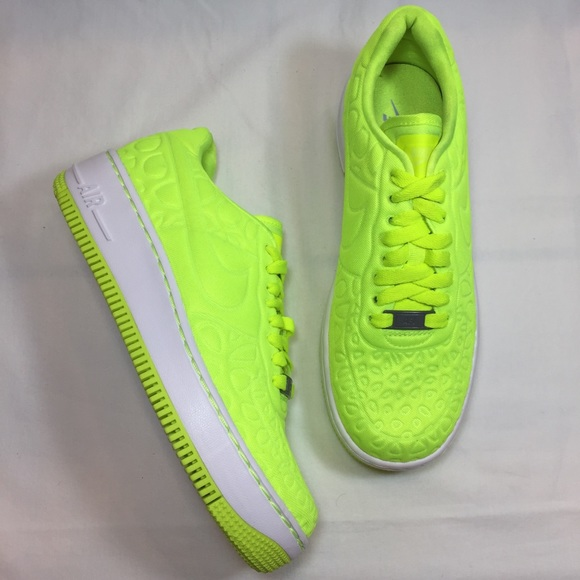 Nike Air Force 1 Upstep Saskatchewan Yellow Provincial Archives of Saskatchewan Upstep e6ba3a